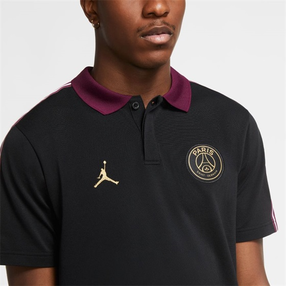 JORDAN PSG TAPED POLO