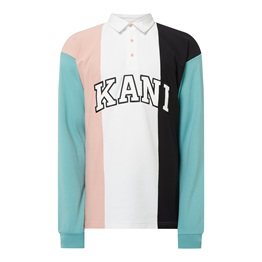 KARL KANI COLLEGE BLOCK RUGBY SHIRT