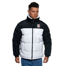KARL KANI RETRO REVERSIBLE PUFFER JACKET