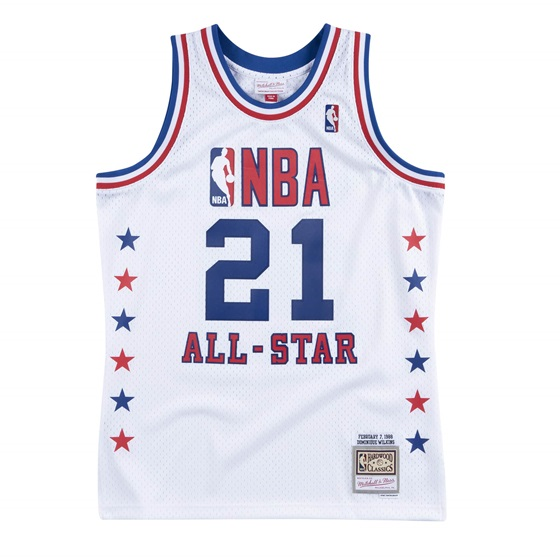 MITCHELL & NESS ALL STAR EAST DOMINIQUE WILKINS NBA SWINGMAN JERSEY