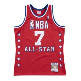 MITCHELL & NESS ALL STAR WEST KARL MALONE NBA SWINGMAN JERSEY