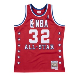 MITCHELL & NESS ALL STAR WEST MAGIC JOHNSON NBA SWINGMAN JERSEY
