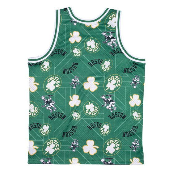 MITCHELL & NESS BOSTON CELTICS TEAR UP PACK SWINGMAN JERSEY