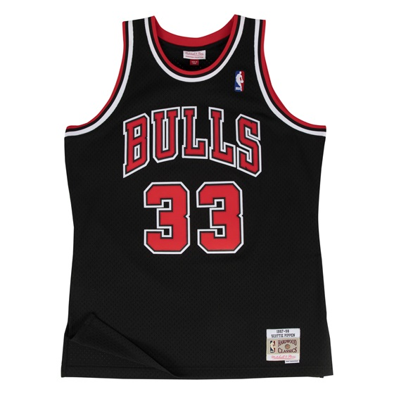 MITCHELL & NESS CHICAGO BULLS SCOTTIE PIPPEN #33 SWINGMAN 2.0 JERSEY