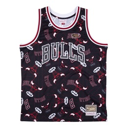 MITCHELL & NESS CHICAGO BULLS TEAR UP PACK SWINGMAN JERSEY