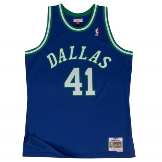 MITCHELL & NESS DALLAS MAVERICKS DIRK NOVITZKI #41 NBA SWINGMAN 2.0  JERSEY