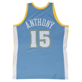 MITCHELL & NESS DENVER NUGGETS CARMELO ANTHONY #15 SWINGMAN 2.0 JERSEY