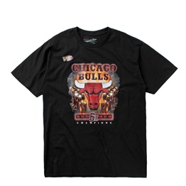 MITCHELL & NESS LAST DANCE CHICAGO BULLS 6X CHAMPS TEE