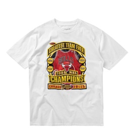 MITCHELL & NESS LAST DANCE CHICAGO BULLS `96 CHAMPS TEE