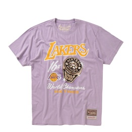 MITCHELL & NESS LOS ANGELES LAKERS PASTEL RINGS TEE