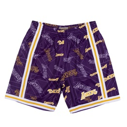 MITCHELL & NESS LOS ANGELES LAKERS TEAR UP PACK SWINGMAN SHORT