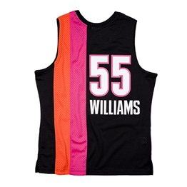 MITCHELL & NESS MIAMI HEAT JASON WILLIAMS 2005-06 SWINGMAN JERSEY