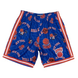 MITCHELL & NESS NEW YORK KNICKS TEAR UP PACK SWINGMAN SHORT