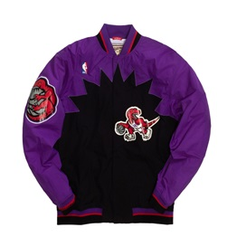 MITCHELL & NESS TORONTO RAPTORS AUTHENTIC WARM UP JACKET