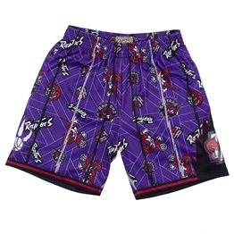 MITCHELL & NESS TORONTO RAPTORS TEAR UP PACK SWINGMAN SHORT
