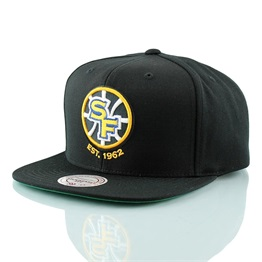 Mitchell & Ness Wool Solid Snapback Golden State Warriors