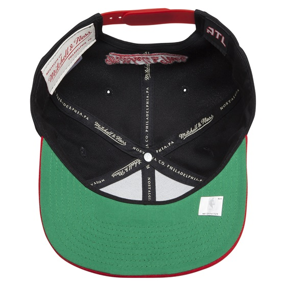 Mitchell & Ness XL Logo Two Tone Snapback ATLHAW