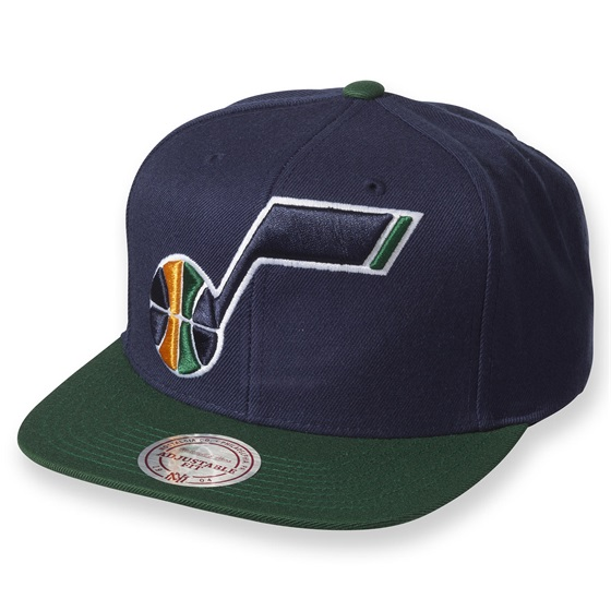 Mitchell & Ness XL Logo Two Tone Snapback UTAJAZ