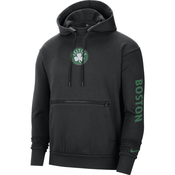 NBA X NIKE BOSTON CELTICS PO HOODIE CTS CE