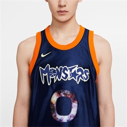 NIKE LEBRON X MONSTARS GAME JERSEY